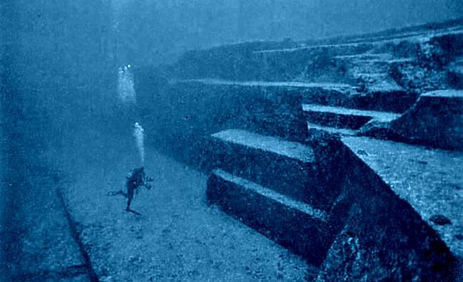10000 year old sunken city off japan