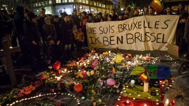 brussels attacks - belgium mourns - bbc coverage